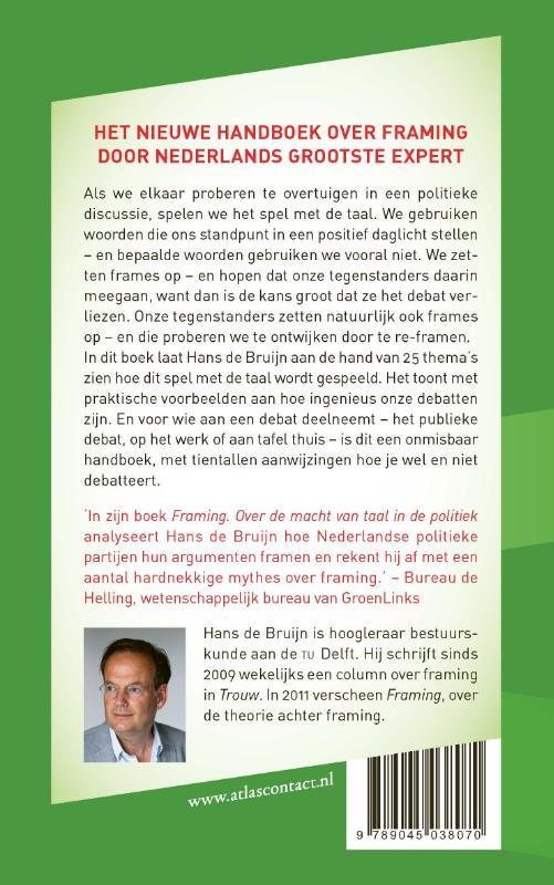 Hans de Bruijn,Handboek Framing