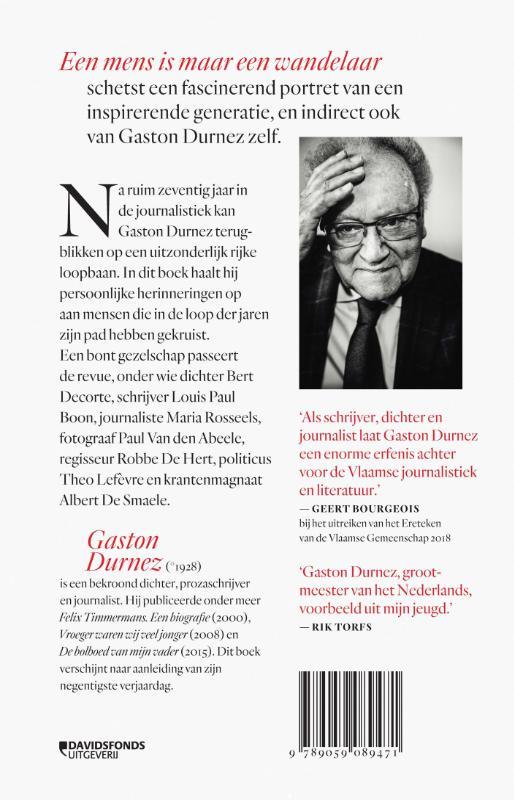 Gaston Durnez,Een mens is maar een wandelaar