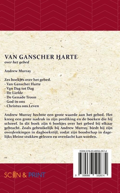 Andrew Murray,Van Ganscher Harte