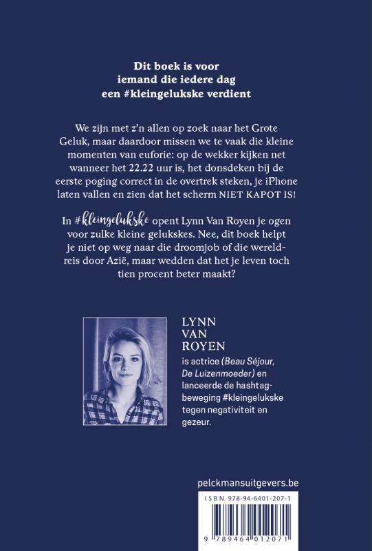 Lynn Van Royen,#kleingelukske