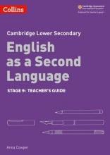 Collins UK Collins Cambridge Checkpoint English as a Second Language - Cambridge Checkpoint English as a Second Language Teacher Guide Stage 9