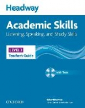 Soars, John,   Soars, Liz Headway Academic Skills 3: Listening, Speaking, and Study Skills Teacher`s Guide with Tests CD-ROM