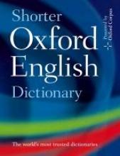 Oxford Dictionaries Shorter Oxford English Dictionary