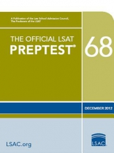 Law School Admission Council The Official LSAT Preptest 68