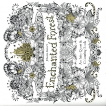 Basford, Johanna Enchanted Forest: An Inky Quest and Colouring Book