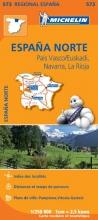 Michelin , 573 España Norte: País Vasco/Euskadi, Navarra, La Rioja