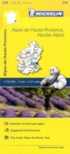Alpes-de-Haute-Provence, Hautes-Alpes - Michelin Local Map 3