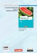 ,Lernstufen Mathematik 6. Schuljahr. Arbeitsheft mit eingelegten Lösungen und CD-ROM. Differenzierende Ausgabe Nordrhein-Westfalen
