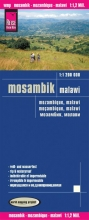 , Reise Know-How Landkarte Mosambik, Malawi  1:1.200.000