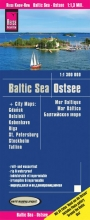 , Reise Know-How Landkarte Ostsee  1:1 300 000 mit Stadtplänen Danzig, Helsinki, Kopenhagen, Riga, St. Petersburg, Stockholm, Tallinn