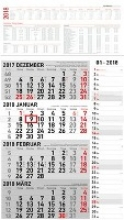4-Monatskalender 2018 Kombi