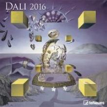 2016 Salvador Daly 30 x 30 Grid Calendar