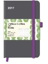 Cool Diary Wochenkalender Grey/Stones Green 2017 9x14