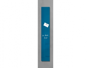, glasmagneetbord Sigel Artverum 120x780x15mm petrolblauw