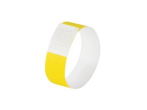 , evenementenbandjes Sigel super soft, 255x25mm 520 stuks     neon geel
