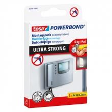 , Powerbond Tesa 55790 montagetape ultra 2x6cm 9 stuks