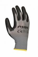 , Handschoen ActiveGear grip PU-flex zwart large