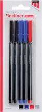, Fineliner Quantore 188 rond 0.4mm assorti