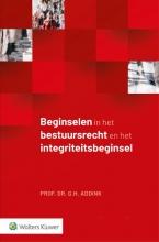 G.H. Addink , Beginselen in het bestuursrecht en het integriteitsbeginsel