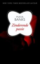 Maya  Banks Maya Banks - Zinderende passie
