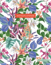 ZNU , Menuplanner - Tropical Flowers