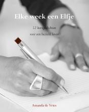 Amanda de Vries Elke week een Elfje