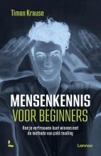 Timon Krause , Mensenkennis voor beginners