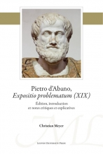Christian Meyer , Pietro d'Abano, Expositio problematum (XIX)
