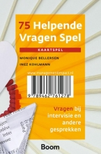 Monique  Bellersen, Inez  Kohlmann 75 helpende vragen spel