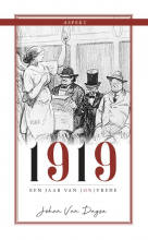 Johan Van Duyse 1919, een jaar van (on)vrede