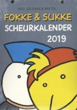 John  Reid, Bastiaan  Geleijnse, Jean-Marc van Tol Fokke & Sukke scheurkalender 2019