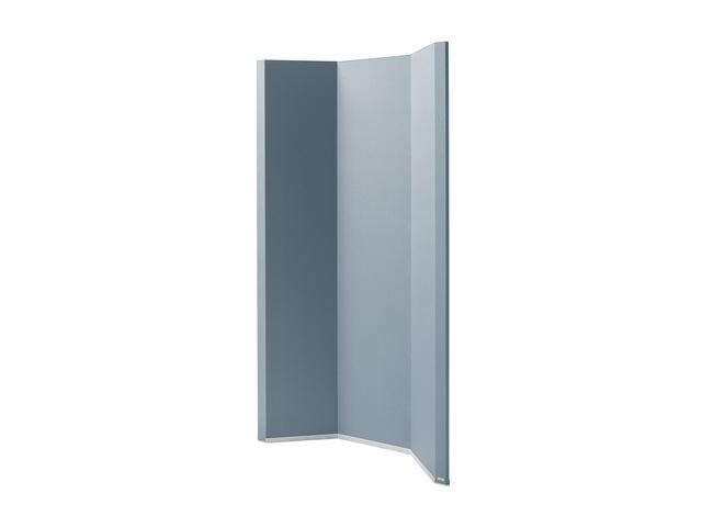 ,ruimteverdeler Sigel akoestiek donkergrijs, 1000x1800x50 mm