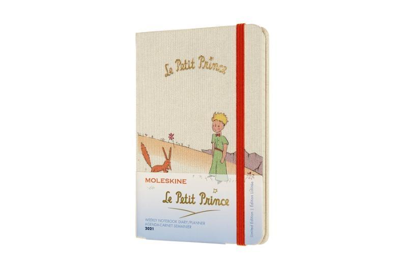 ,Moleskine 12 MND Agenda - 2021 - LE Planner -  Petit Prince - Wekelijks - Pocket (9x14 cm) - Fox