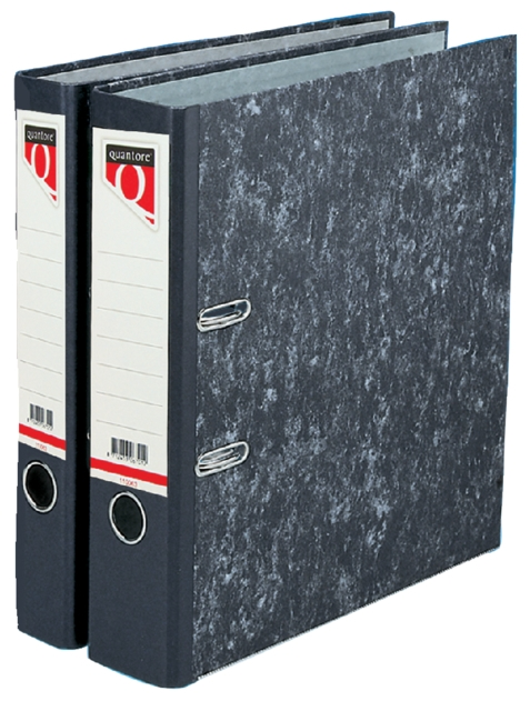 ,Ordner Quantore A4 50mm karton gewolkt