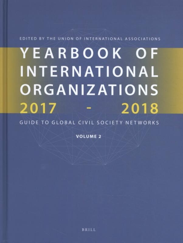 ,Yearbook of International Organizations 2017-2018