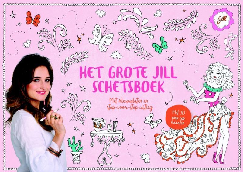 Jill Schirnhofer,Het grote Jill schetsboek