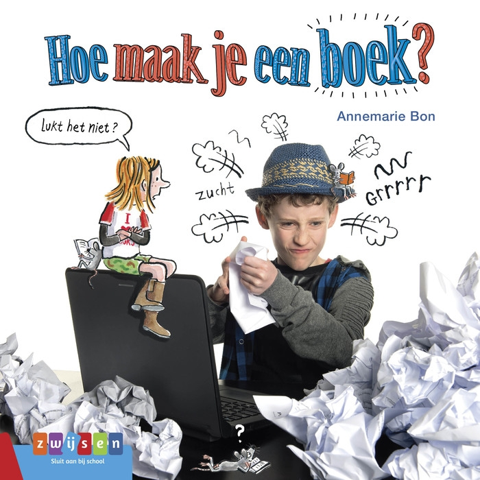 Annemarie Bon,Hoe maak je een boek?
