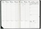 ,Prenote Schreibtisch-Terminkalender 2019 Impala schwarz