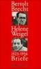 Brecht, Bertolt,Briefe 1923-1956