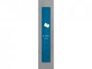 <b>glas/magneetbord Sigel Artverum 120x780x15mm petrolblauw</b>,