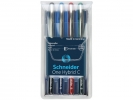 ,rollerball Schneider One Hybrid C 0,3mm etui 4 stuks