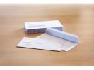 ,dienstenvelop met venster Raadhuis 110x220mm DL (EA5/6) met plakstrip wit 200 stuks