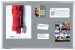 ,Prikbord Legamaster professional 90x120cm kurklino grijs