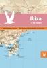 ,Dominicus stad-in-kaart: Ibiza in kaart