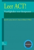 J.B.  Luoma, S.C.  Hayes, R.D.  Walser,Leer ACT + Cd-ROM