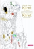 ,Kleur je eigen Klimt - 22 kaarten/Colour Your Own Klimt - 22 postcards