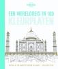 Lonely Planet,Een wereldreis in 100 kleurplaten