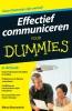 Marty  Brounstein,Effectief communiceren voor Dummies