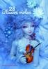 ,28 Blauwe violen
