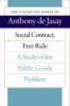 Anthony Jasay Social Contract, Free Ride